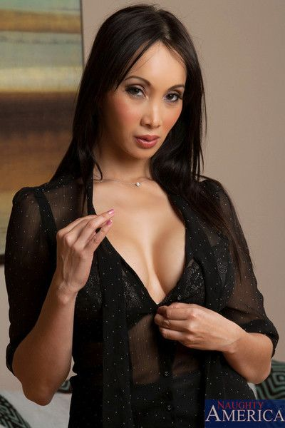 The time has come for Asian model Katsuni to take off her see-through dress.