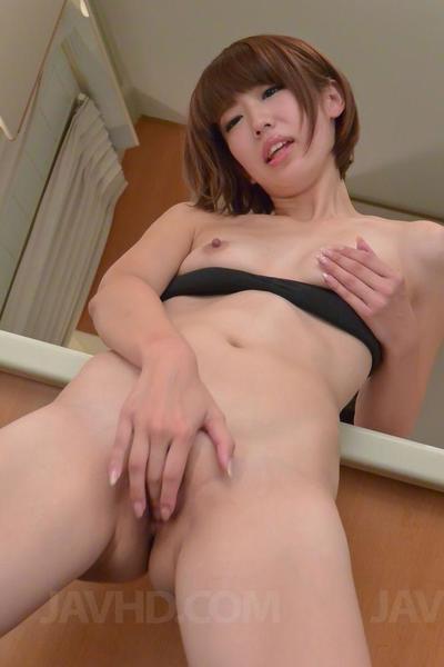 stretto Culo Babe Seira Matsuoka gode di in ottenere Il suo figa Stimolato :Da: un vibratore