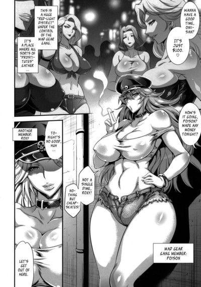 футанари манга комиксы