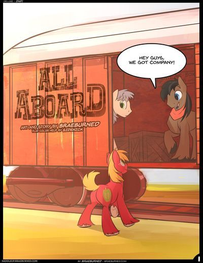 [Braeburned] All Aboard (My Little Pony: Friendship is Magic)