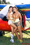 Jade sin and priva in private sports instructor