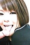 Kinky latex clad Asian Huwari peforms oral sex and gets a hardcore pounding