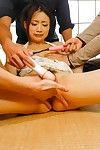 два озорной :Лохи: не проведение Милые Маюка Акимото и бурение ее Соски и волосистая Пизда с Вибраторы