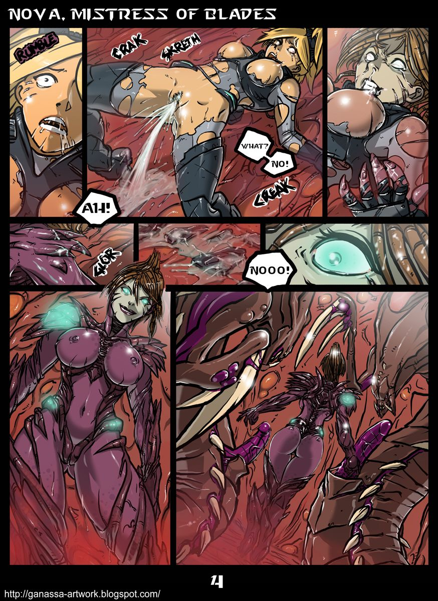 Hot Porn Comics with StarCraft Characters