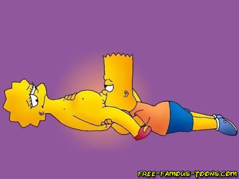Bart and lisa simpsons orgy