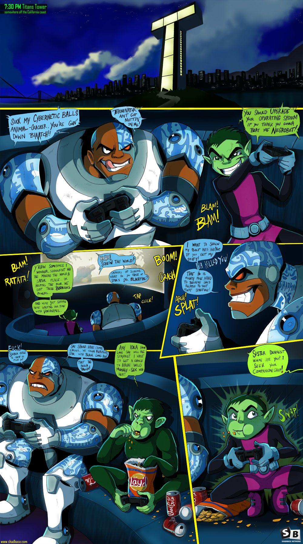 [RealShadman] Teen Titans Go! Fuck (Teen Titans) [Ongoing]