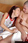 Young Catherine moans likes a slut during impressive deep penetration porn scene