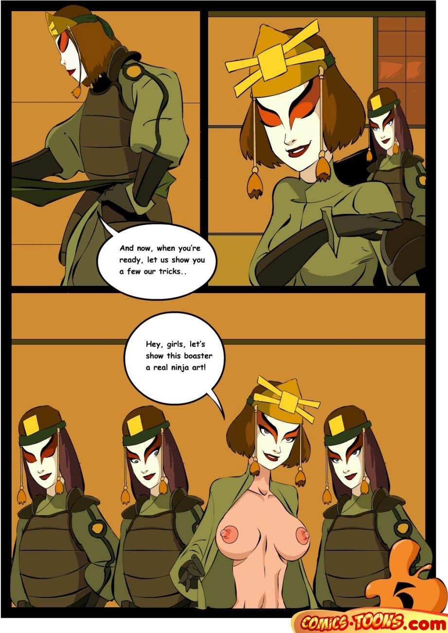 Muschi lecken comic
