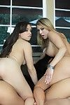 Brunette hair babe Amia Moretti takes part in cum flying group sex and swaps sticky sex cream