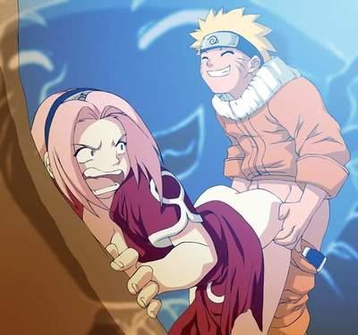 Naruto ยังไงพว ซากุระอะไรสั yon Hentai ก้น